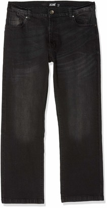 Jacamo Men's Stretch Loose Fit Washed Jean 27
