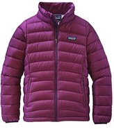 Patagonia Girl's Water Resistant Down Insulated 'Sweater' Jacket