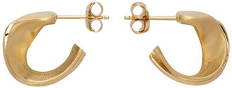 COMPLETEDWORKS Gold Plume Earrings