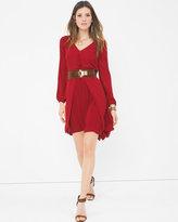 White House Black Market Boho Split-Front Dress