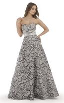 Morrell Maxie 15717 Rose Strapless Evening Gown