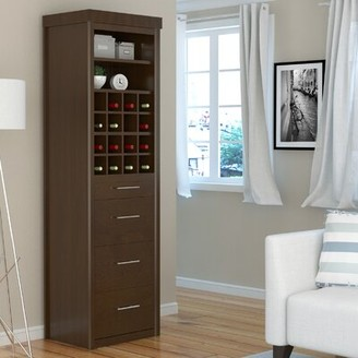 Canora Grey Chicago Tower Cabinet 3 Drawer Accent Chest Canora Grey