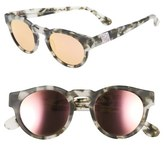 Westward Leaning Olivia Palermo x 'Voyager' Mirrored Sunglasses