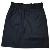 LES COYOTES DE PARIS Black Wool Skirt for Women