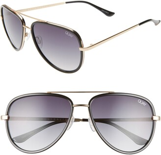 Quay All In 58mm Aviator Sunglasses