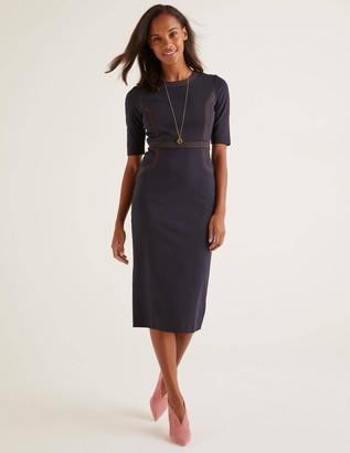 Kate Stitch Detail Ponte Dress