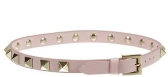 Valentino GARAVANI Rockstud Double Leather Bracelet With Studs