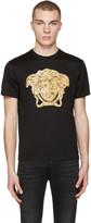 Versace Black Medusa Statue T-Shirt