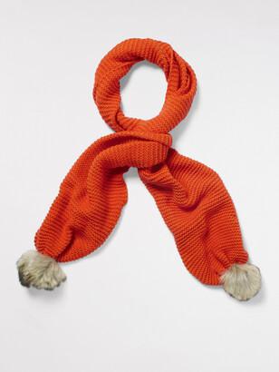 White Stuff Bridget Plain Knit Scarf