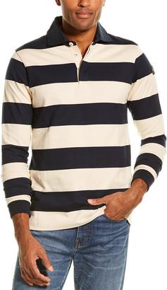 Paul & Shark Rugby Stripe Polo Shirt