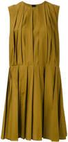 Marni pleated shift dress