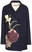 Valentino Embellished Virgin Wool Coat