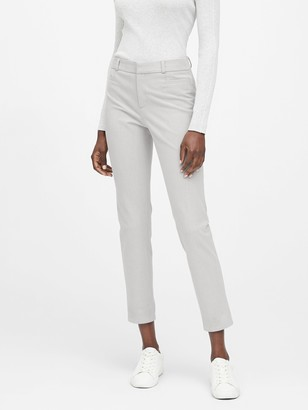 Banana Republic Petite Modern Sloan Skinny-Fit Brushed Washable Pant