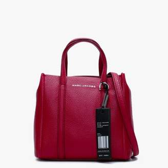 Marc Jacobs Tag 21 Cranberry Pebbled Leather Tote Bag