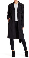 Michael Stars Belted Trench Coat