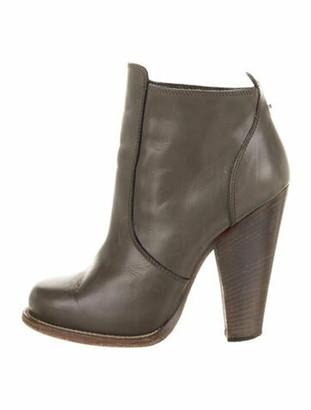 Barbara Bui Leather Boots Grey