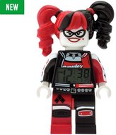 Lego BATMAN MOVIE Harley Quinn Minifigure Alarm Clock