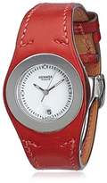 Hermes Pre-owned: Harnais Leather Watch.