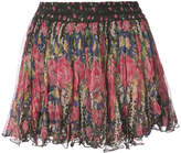 Mes Demoiselles floral print mini skirt