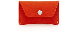 Graf Lantz Card Wallet Orange Felt