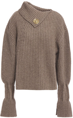 J.W.Anderson Ribbed Wool And Cashmere-blend Sweater