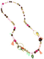 Betsey Johnson Tropical Punch Long Necklace