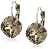 "Sorrelli Gold Vermeil"" Single Drop Crystal Drop Earrings"