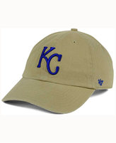 '47 Kansas City Royals Khaki Clean UP Cap
