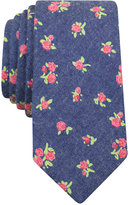 Bar III Men's Oakland Floral Skinny Tie, Only at Macy's
