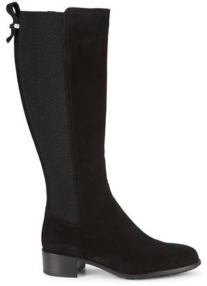 Aquatalia Osanna Suede Knee-High Boots
