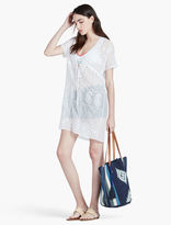 Lucky Brand Embroidered Beach Tunic