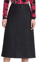 Tracy Reese Bonded Lace A-Line Skirt