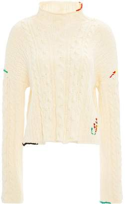 J.W.Anderson cropped jumper top