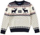 Ralph Lauren Big Boys 8-20 Christmas Reindeer Wool-Blend Sweater