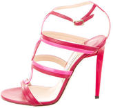 Jimmy Choo Colorbllock Cage Sandals