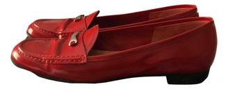 Prada Red Patent leather Flats