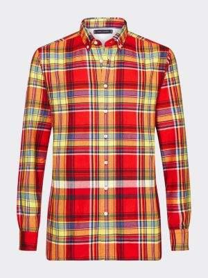 Tommy Hilfiger Regular Fit Large Check Flannel Shirt