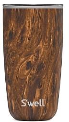 Swell Tumbler Teak Wood, 18 oz.