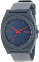 Nixon Men's A119692-00 Time Teller P Analog Display Japanese Quartz Blue Watch