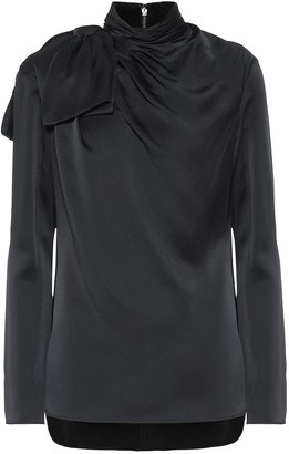 KHAITE Francine crepe blouse