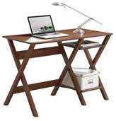 Household Essentials Techni Mobili Stylish Workstation with Side Shelves