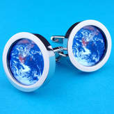 Planet Earth Wild Life Designs From Space Cufflinks