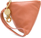 See by Chloe triangle purse - women - Cotton/Goat Skin - One Size
