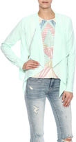 Lucy Paris Mint Contrast Jacket