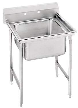 """Advance Tabco 940 Series Free Standing Service Sink Advance Tabco Width: 27"""""""