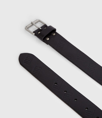 AllSaints Wilder Leather Belt