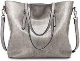 Tibes Fashion Large Capacity Women Handbag Tote Purse Clutch
