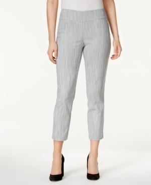Alfani Petite Striped Capri Pants, Created for Macy's