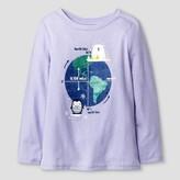 Toddler Girls' T-Shirt Lavender Water - Cat & Jack
