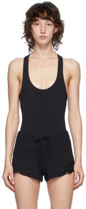 La Perla Black Spalla Bodysuit